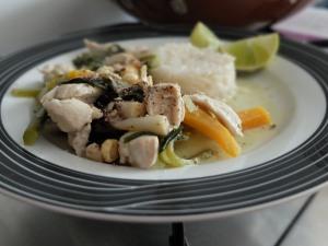 Thai Green Chicken Curry, 7 July 2014